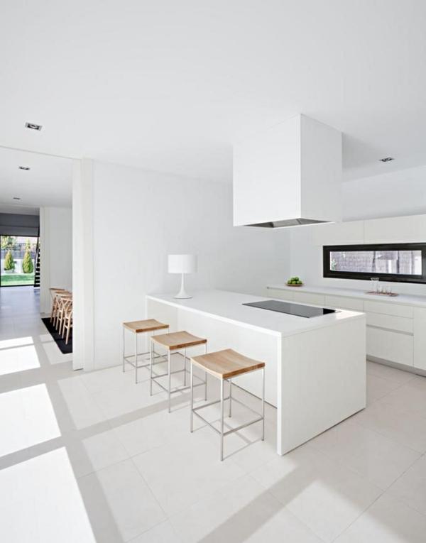 Weisse Kueche Mit Kochinsel Stilvoll On Andere Innerhalb Küchen Küchenblock Freistehend Weiß Einrichtung 2