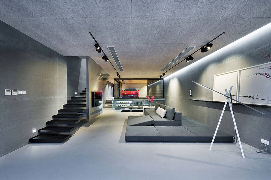 Wohnung Design Unglaublich On Andere überall Glass Walled High Tech Home In Hong Kong Fubiz Media 1