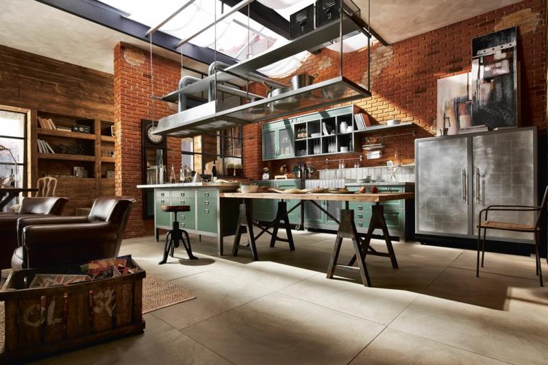 Wohnung Style Einrichtung Wunderbar On Andere Für 55 Ideen Loft Einrichten 7