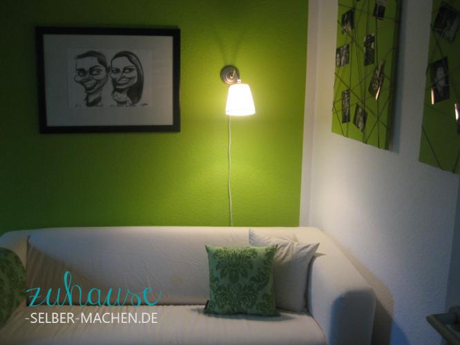 Zimmer Streichen Grün