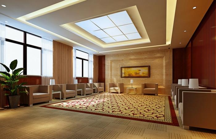 Zimmerdecken Gestalten Schön On Andere Beabsichtigt False Ceiling Designs For Reception Ownmutually Com 3